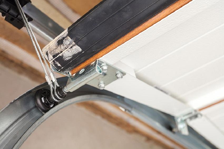 Garage door cables safety precautions