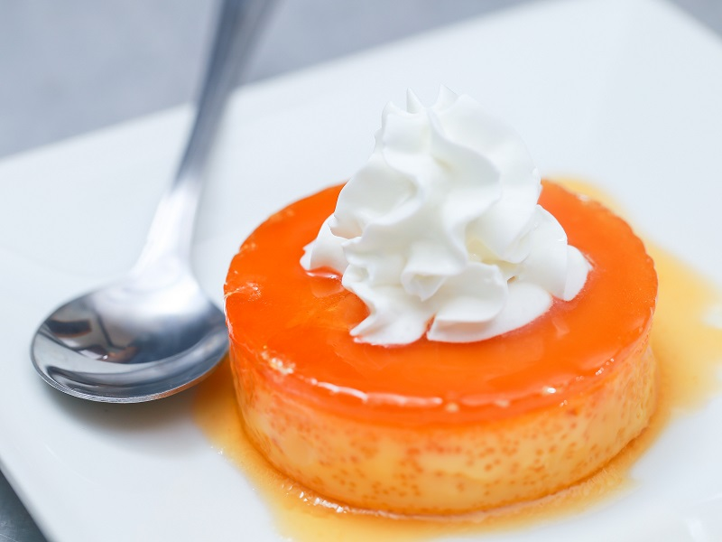 How to make condensed milk flan