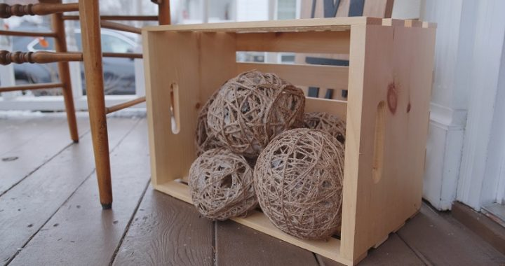 decorating tips with burlap