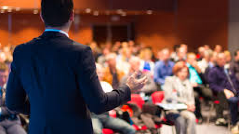 Making the most of speaking at a business event