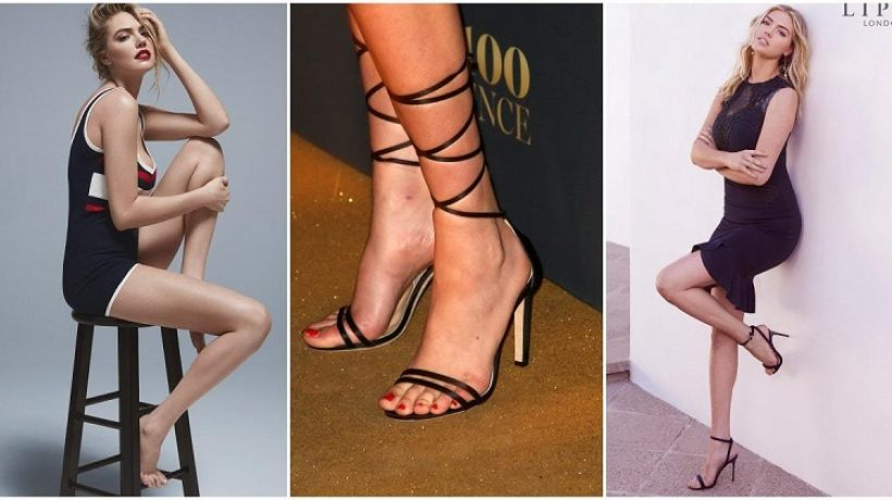 Kate Upton feet, shoe size, and shoe collection