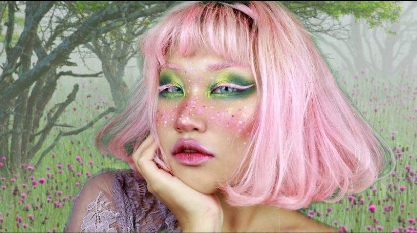 Fairy makeup idea