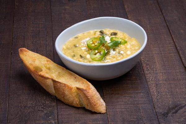 corn poblano soup